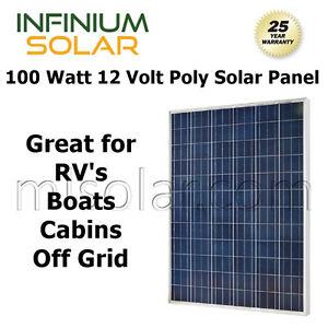 SOLAR-PANEL-10W-20W-50W-100-WATT-12V-Volt-Solar-Cells-RV-BOAT-OFF-GRID-POLY
