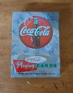 1998 Coca Cola Playing Cards SEALED DECK