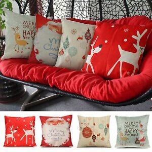 Home-Room-Decor-Cushion-Cover-Throw-Pillowcase-Pillow-Covers-Christmas-Style