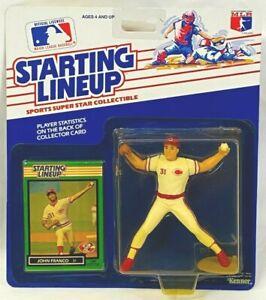 ⚾️ 1989 STARTING LINEUP - SLU - MLB - JOHN FRANCO - CINCINNATI REDS