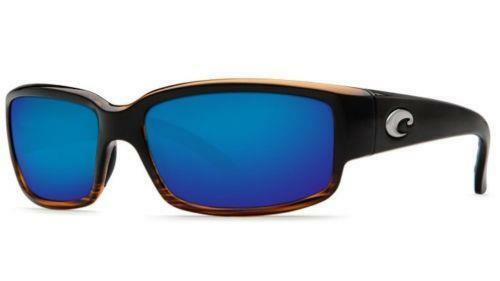 New Costa del Mar Caballito Polarized Sunglasses Coconut Fade/Blau Mirror 400G
