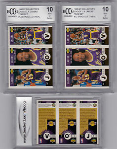 2-Shaquille-Graded-BCCG-10-GOLD-FOIL-1996-Upper-Deck-LA-LAKERS-SHAQ-TEAM-SET