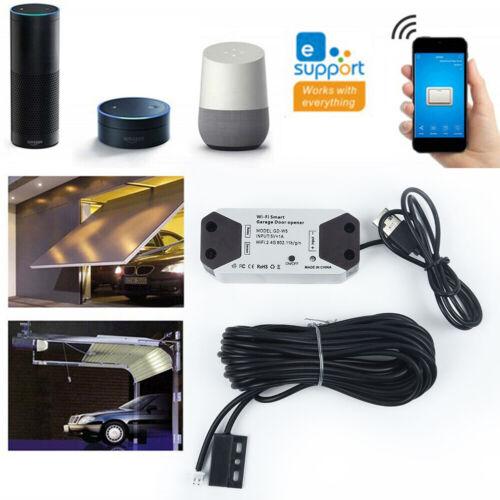 Smart Garage Door Opener Remote Controller APP Control 16A 100V-240V Universal