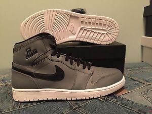 nero Grigio Jordan Nike Cool Retro 12us Air Og 1 New Ds qHROPP