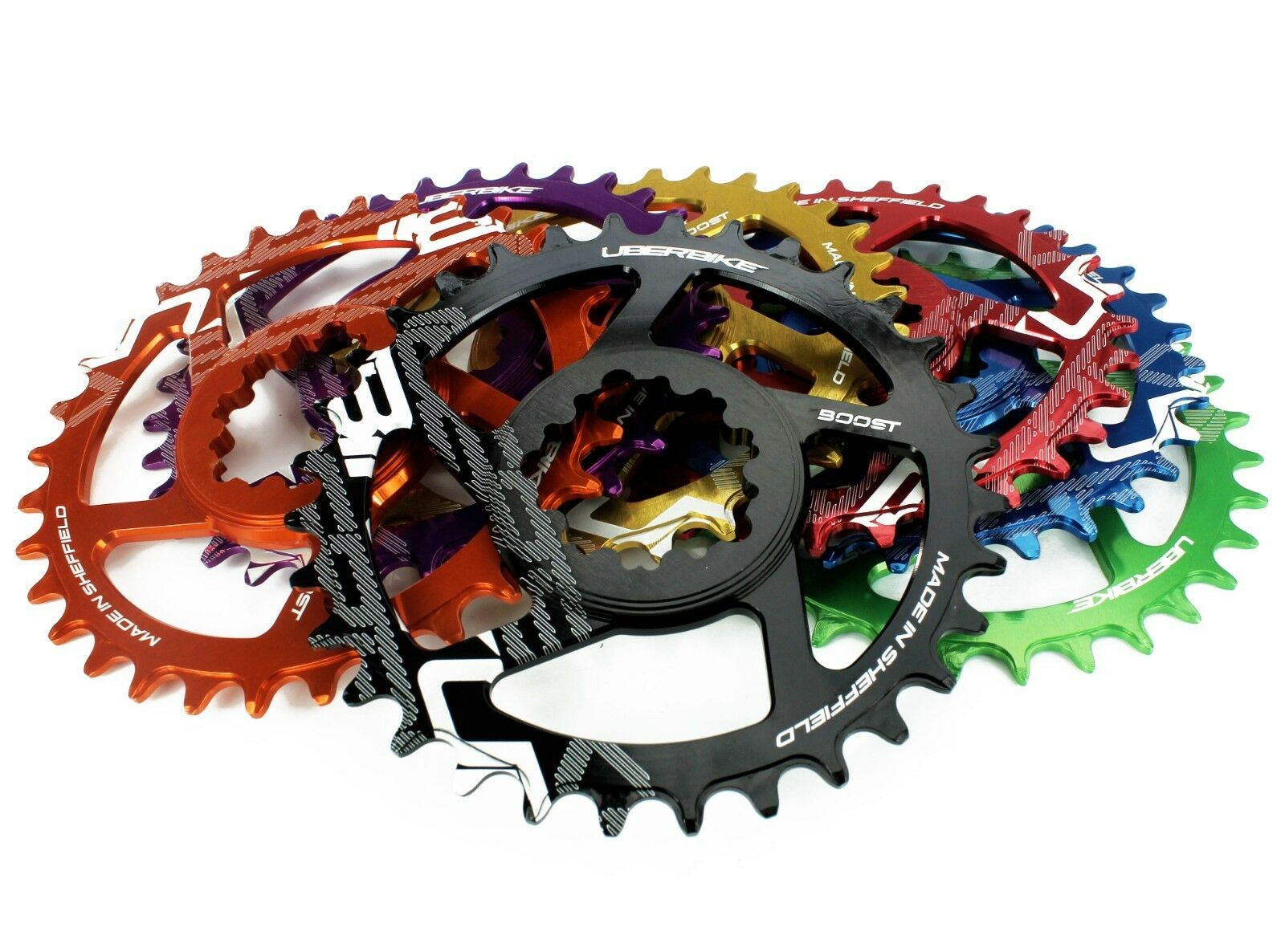 Uberbike Made In Sheffield SRAM Boost Direct Mount Narrow Wide Chainring 30T