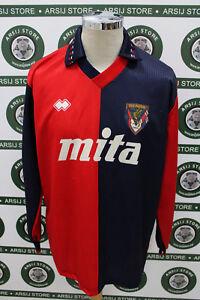 maglia-calcio-shirt-maillot-trikot-camiseta-GENOA-ERANIO-MATCH-WORN-1991-92