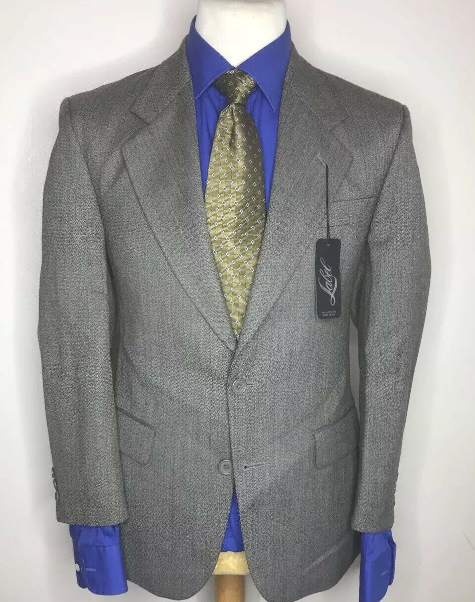 LABEL TAILORING SUIT TOWN & COUNTRY CLASSIC FIT TRADITIONAL ENGLISH SUIT 38x32