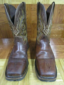 76caeedde96 Details about Justin Men's Joist Waterproof Comp Toe Work Boots Size 9.5 D