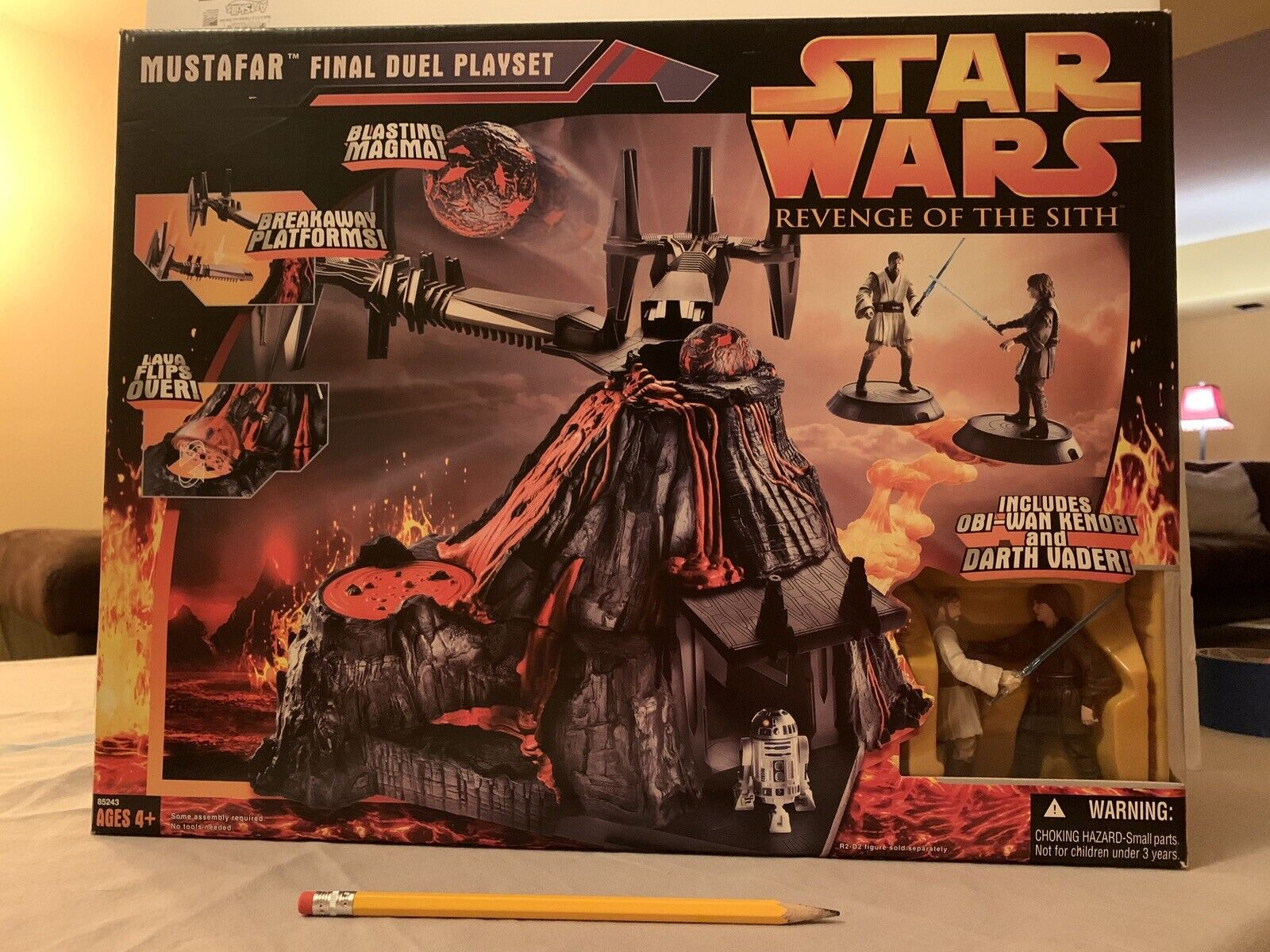 Star Wars Revenge Of The Sith Mustafar Final Duel Playset For Sale Online Ebay