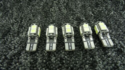 FIAT CAR LIGHT BULBS LED ERROR FREE CANBUS 9 SMD XENON W5W 501 SIDE