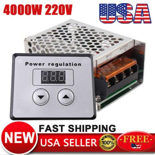 4000W AC 110V 220V SCR Voltage Regulator Motor Speed Control Semiconductor Kit
