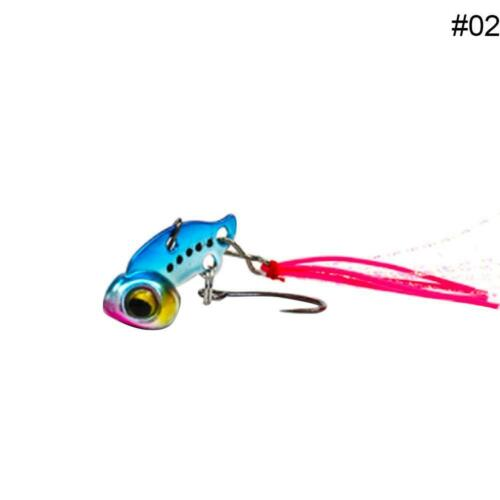 3g 6g Metal Mini Ice Fishing Lure Lead Copper Lures Hard Bait Artificial NEW