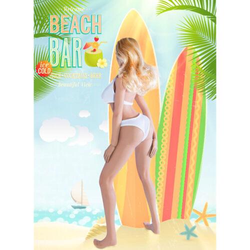 1//6 Scale Female Bikini Underwear Swimsuit for Phicen Action Figure White