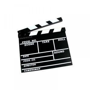 ciak cinematografico  CIAK CINEMATOGRAFICO REGISTA FILM IN LEGNO CON CLAPPER LAVAGNA ...