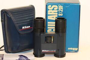 NIKON-8-x-20F-binoculars-true-pocket-binocular-FANTASTIC-VIEW-JAPAN