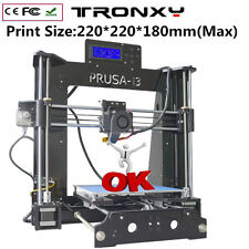DIY 3D Printer full complete kit for Reprap Prusa i3 - Factory Direct - PLA/ABS
