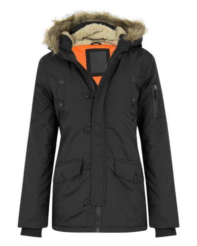 New Boys Children Kids Fur Hooded Button Waterproof Jacket Size 7-13 Years