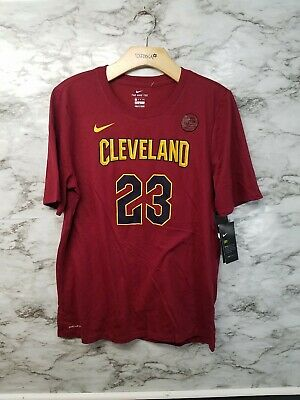 Details about Childs L Cleveland Cavaliers Nike Dri Fit Shirt Lebron James #23 NBA Basketball