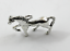 Antique Silver Tibetan Metal alloy HORSE PONY Charms Pendant Beads Crafts Cards