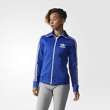 NEW Women's Originals Adidas Europa Track Jacket Size: Large Color: Blue