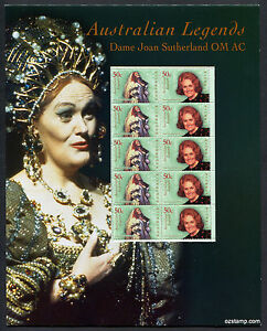 2004-Dame-Joan-Sutherland-Post-Office-Pack-Australia-Mint-Stamps