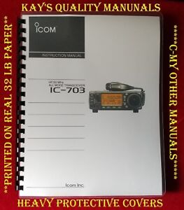 Highest-Quality-Icom-IC-703-Instruction-Manual-on-32-Lb-C-MY-OTHER-MANUALS