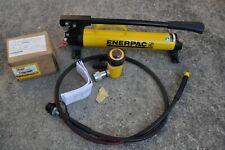 Enerpac P 39 Hydraulic Hand Pump Amp Rc102 Cylinder With Hose