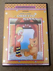 Dvd lorsetto mamma teddy & annie cartone animato a8 ebay