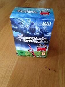 Xenoblade-Chronicles-amp-pro-controller-Nintendo-Wii-PAL-Excellent-condition
