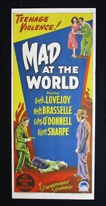 MAD-AT-THE-WORLD-1955-Orig-Australian-daybill-movie-poster-delinquents-noir-film