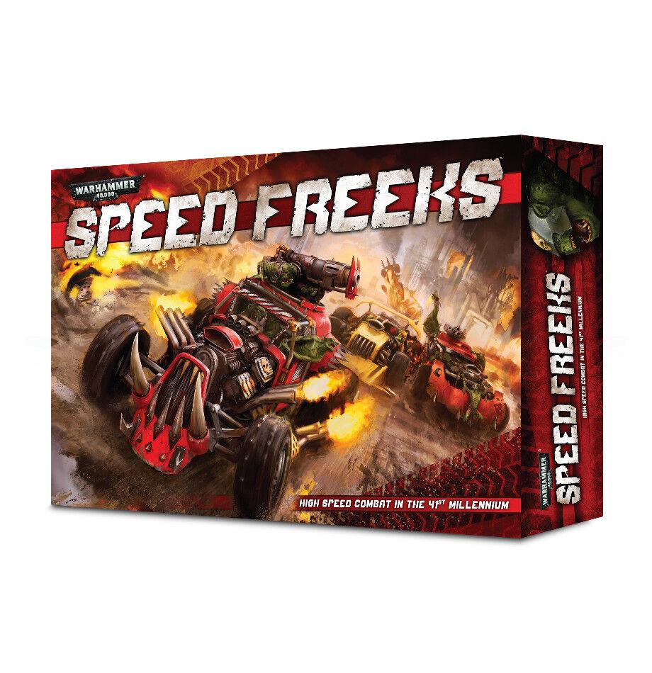 Orks velocidad Freeks Juego de Mesa en Caja Set Warhammer 40k Nuevo