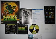 Nuclear Strike (PC, 1997) Complete in Box CIB Big Box Game WOW!