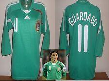 MEXICO home shirt soccer jersey 3/4 sleeve GUARDADO Valencia Leverkusen PSV RARE