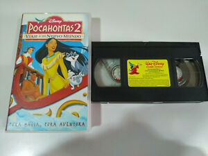 POCAHONTAS-2-VIAJE-A-UN-NUEVO-MUNDO-Walt-Disney-VHS-Cinta-Tape-Espanol