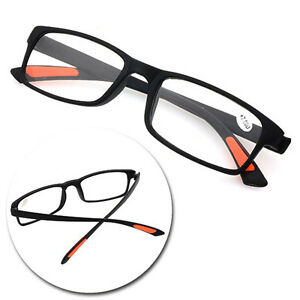 0f506f534a8 Image is loading Unisex-Light-Reading-Glasses-Flexible-Eyeglasses-Resin-Lens -