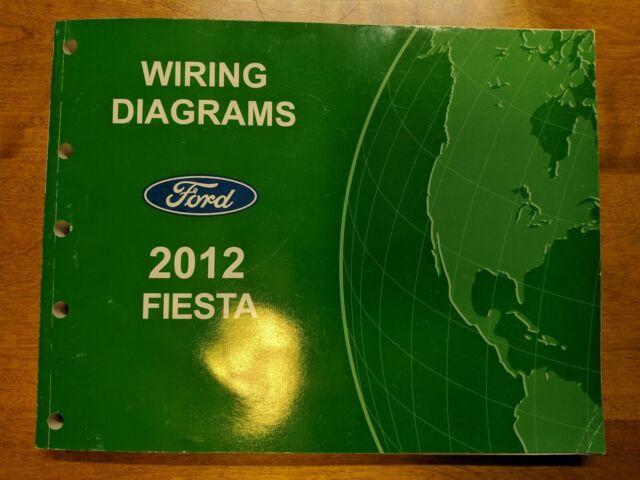 2012 Ford Fiesta Wiring Diagrams Service Manual