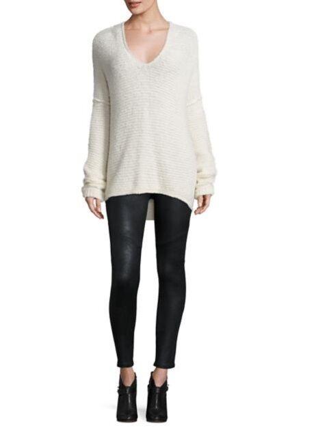 New Free People Women All Mine High Low Knit Jumper Sweater  XS S M L