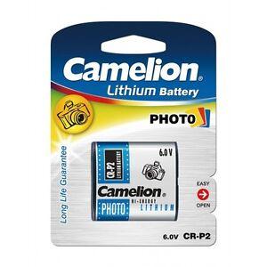 Piles-speciales-photos-CR-P2-6V-lithium-Camelion-expedition-rapide-et-gratuite