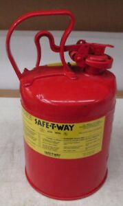 Safe-T-Way Type 1-NFPA 30 Safety Can 2 Gallon   eBay