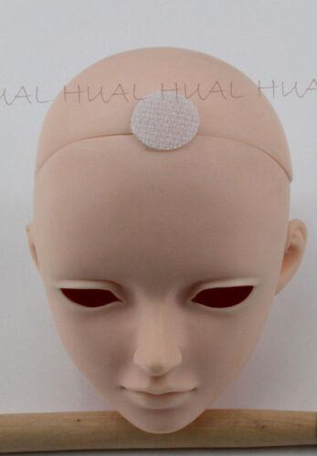 "7-8/"" 1//4 BJD Silver Gray Long Wig LUTS Doll SD DOD MSD Hair Soom Volks Fairyland"