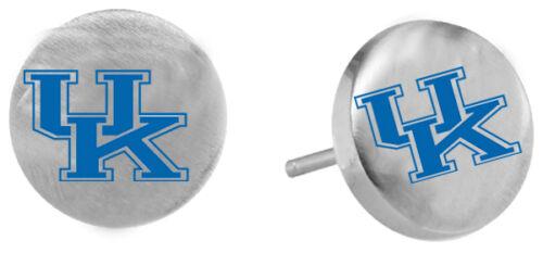 Stainless Steel Stud Post Earrings UNIVERSITY KENTUCKY WILDCATS NCAA Jewelry
