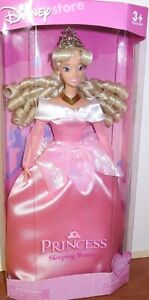 DISNEY-STORE-PRINCESS-SLEEPING-BEAUTY-AURORA-MID-80-039-S-VINTAGE-NEW-Damaged-Box