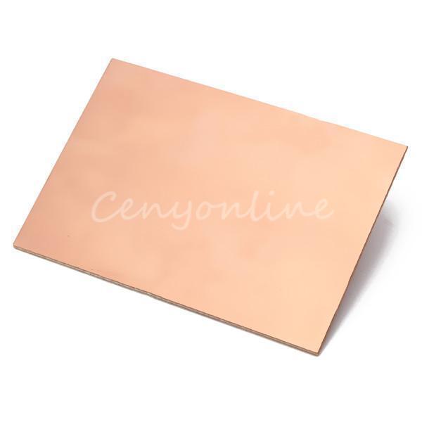 10PCS Single Side Copper Clad PCB Printed Circuit Laminate Board Glass Fiber
