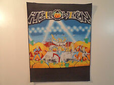 Vintage HELLOWEEN  80s Unused BACK PATCH heavy metal dio ozzy accept lp t shirt