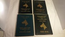 Lot of (4) GREAT DANE CLUB of AMERICA, Inc. Year Books 1951 thru 1958
