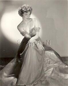 Original Vintage 1940s-60s Nude RP- Super Endowed Woman In