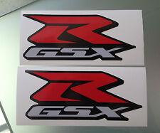 GSXR Fairing Decals / Stickers for Suzuki GSXR 600 / 750 / 1000 (175mm x 75mm)