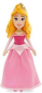 Disney-Bella-Durmiente-Aurora-Muneco-de-Peluche-Muneca-Rosa-Vestido-48cm-Alto