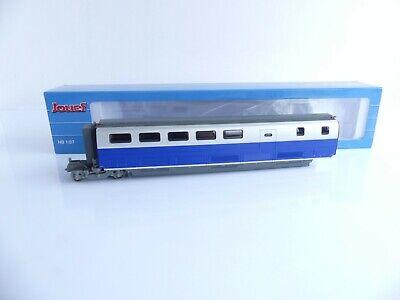 JOUEF HJ4115 VOITURE INTERMEDIAIRE 1E CL TGV SUD-EST BLEU ET GRIS METAL