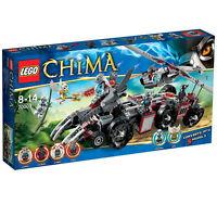 Lego Chima Sealed Set 70009 Worriz Combat Lair W Minifig 2013 Wolfs